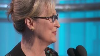 Meryl Streep on Donald Trump in Golden Globes 2017 Speech