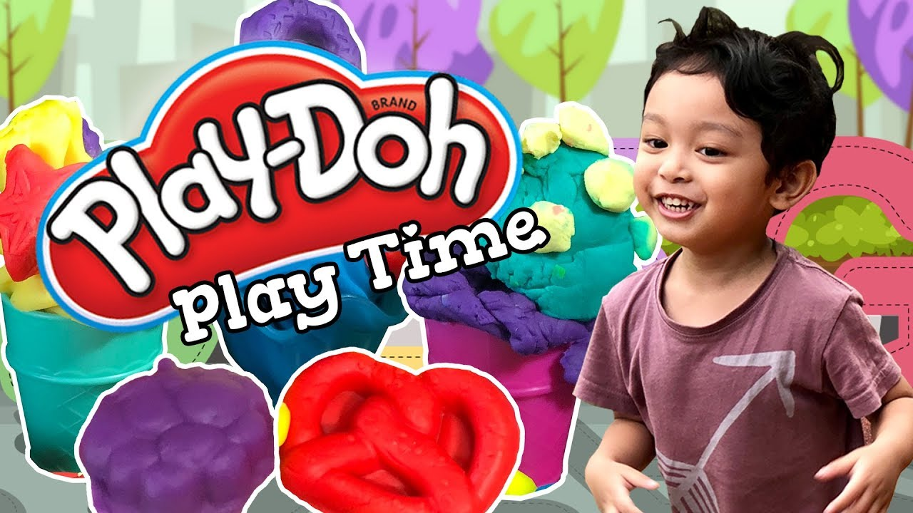 Play Doh Time With Hafiy   Hadiff And Hafiy