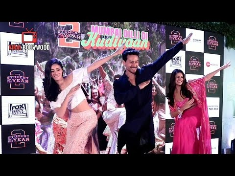 Mumbai Dilli Di Kudiyaan Song Grand Launch | Full Event #StundentOfYear2 |Tiger Shroff, Tara, Ananya