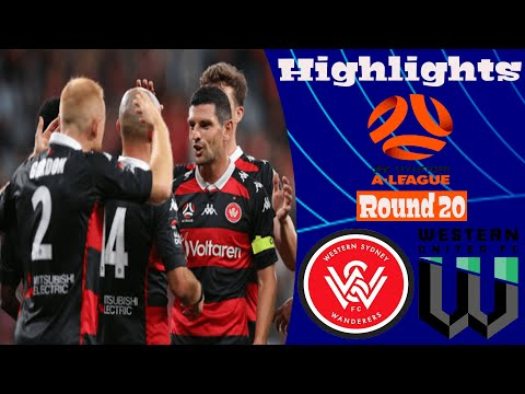 Western Sydney Wanderers Western United Goals And Highlights
