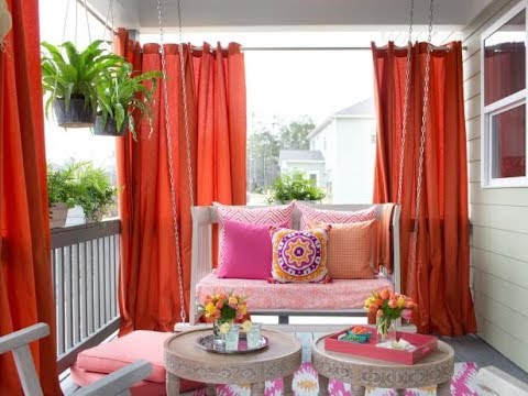 70 Best diy outdoor curtain ideas in 2018 - stylish living room curtains design ideas 2018