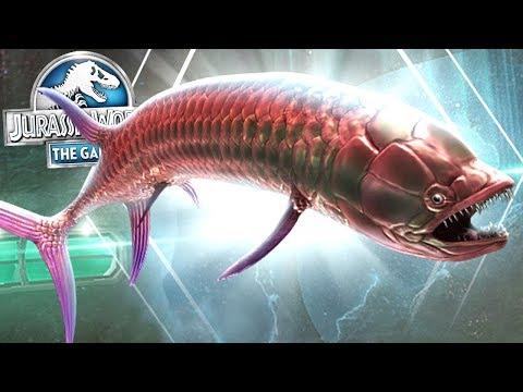 モササウルスのエサ?【ギリクス】LvMAXまで!gillicus jurassic world the game