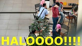 TERIAK HALO PRANK - PRANK INDONESIA - BRANDON KENT