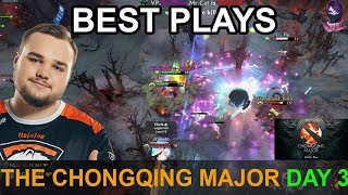 The Chongqing Major BEST PLAYS Day 3 Highlights Dota 2 Time 2 Dota #dota2 #ChongqingMajor #CQMajor