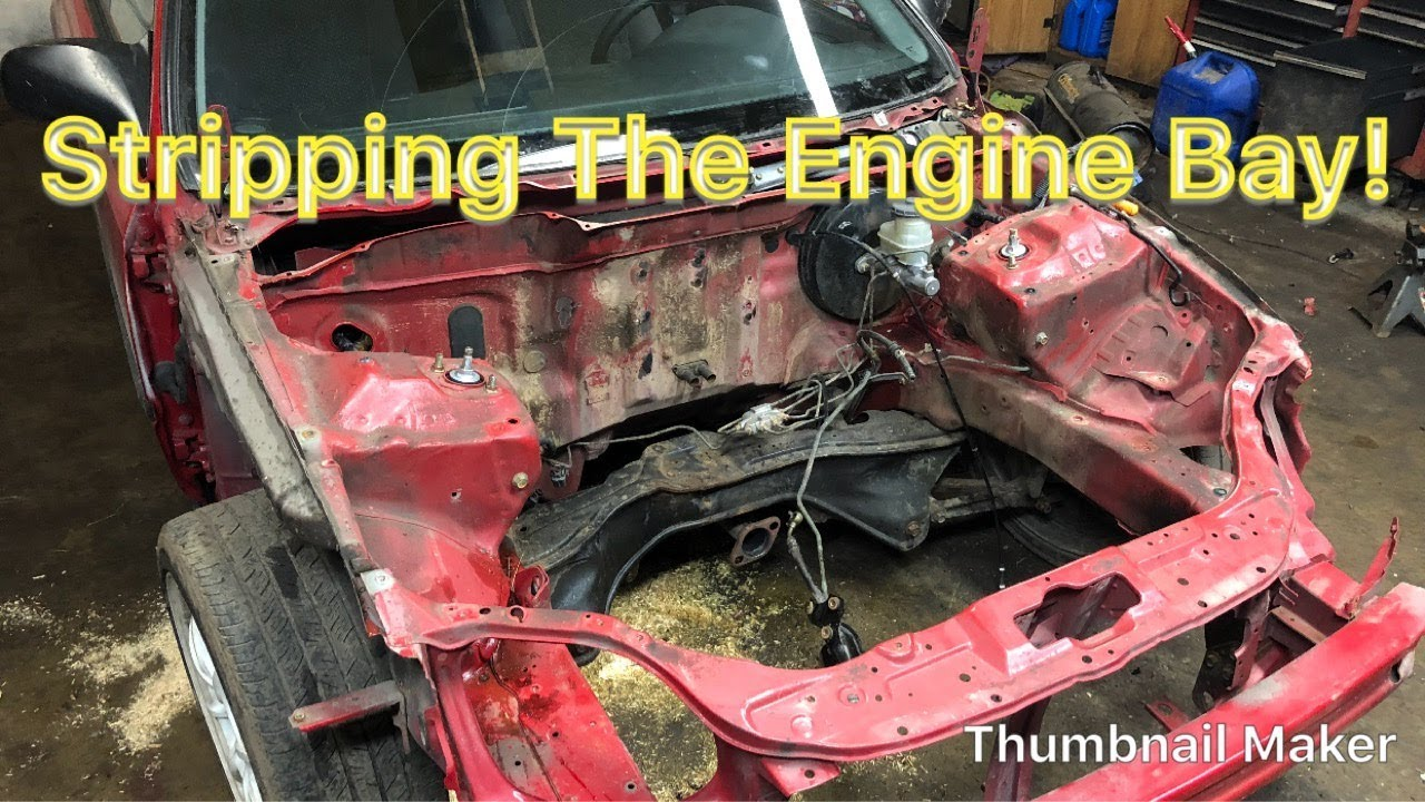 hight resolution of how to wire tuck and clean up your engine bay part 1 honda civic ek hatch project