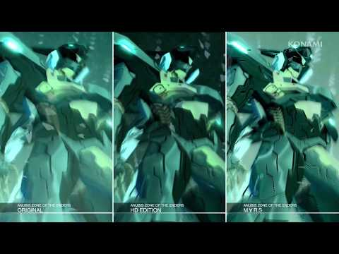 ANUBIS ZONE OF THE ENDERS : M∀RS:比較映像トレーラー