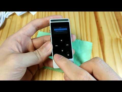 【Amazon・MP3プレイヤー】コンパクトでアルミ製!iPodの代わりに激安の音楽プレイヤーを使おう!