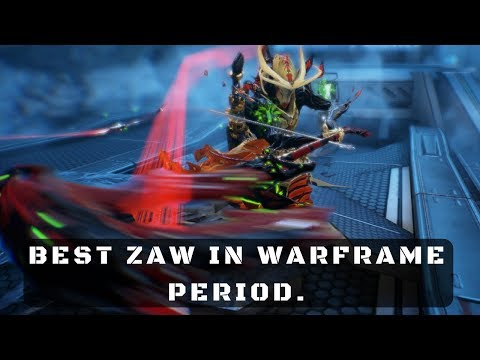 Warframe: I Just Created a Monster Zaw. Fear the Reaper!
