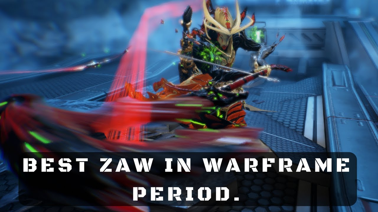I think I just created the best zaw in the game  - General