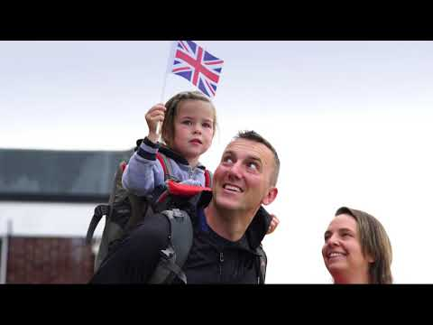 HMS Queen Elizabeth employee celebrations video
