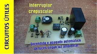 Interruptor Crepuscular. CU 13. Colaborativo Navidad 2015