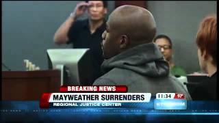 Boxer Floyd Mayweather Jr Begins Las Vegas Prison Sentence