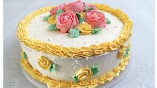 Doim O xshab Chiqadigan Mayin Va Yumshoq Tort Retsepti НЕЖНЫЙ Бисквитный Торт SPOONGE CAKE