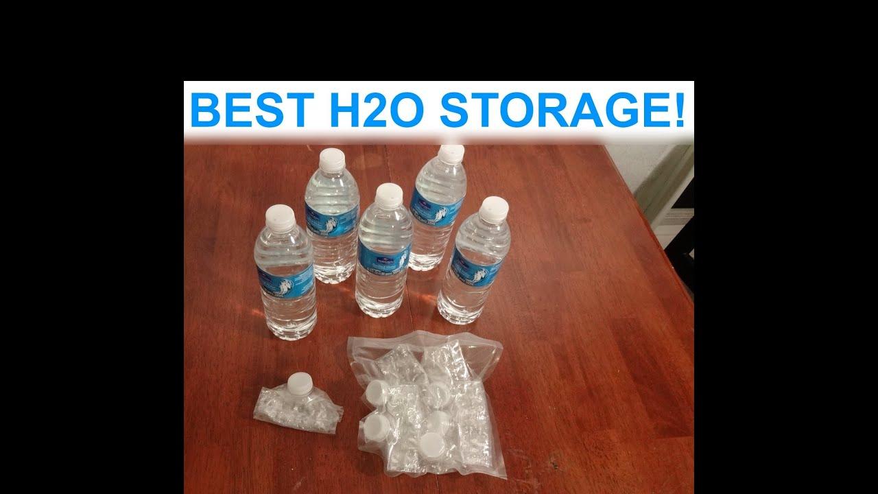 & Bug Out Bag Water Storage idea. Near zero space u0026 weight! - YouTube