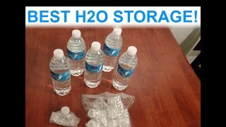 Bug Out Bag Water Storage idea. Near zero space & weight!