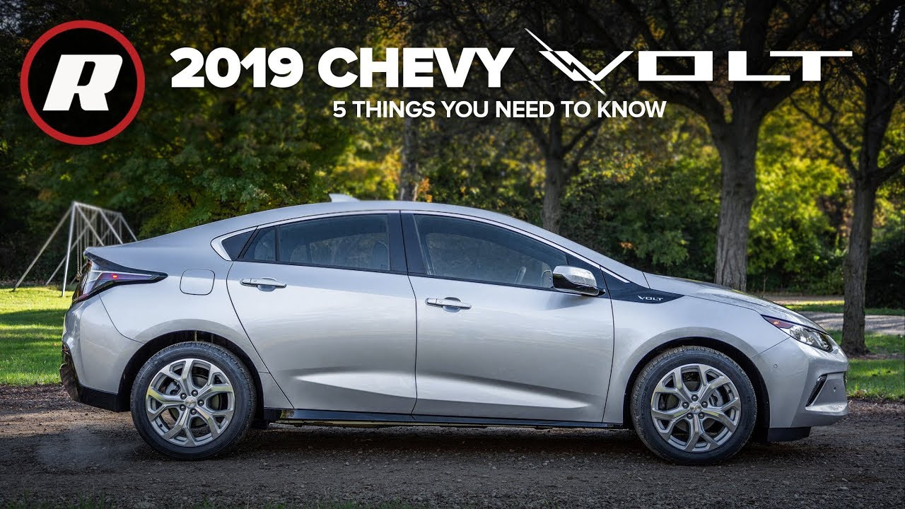 2019 Chevy Volt 5 Things To Know About This Fast Charging Plug In Hybrid Youtube