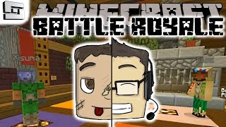 Minecraft - Battle Royale - HOT BATTLE ACTION! E1