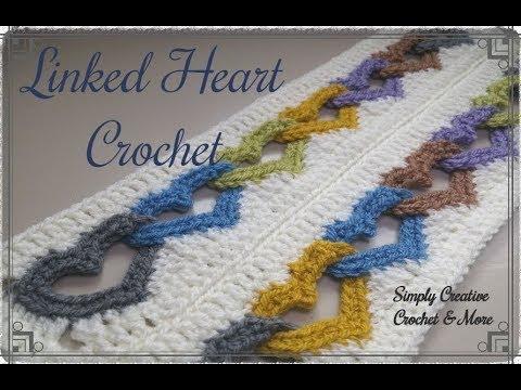 Crochet Linked Heart Pattern | Interlocked Hearts