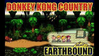 DONKEY KONG COUNTRY & EARTHBOUND