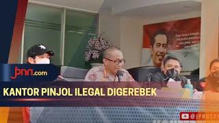 Polisi Gerebek Kantor Pinjol Ilegal di Kelapa Gading