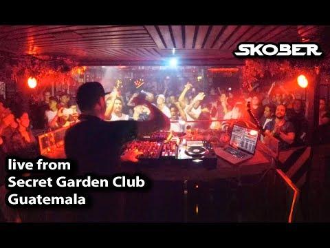 Skober live from Secret Garden Club, Guatemala City (Guatemala) [01-12-1018]