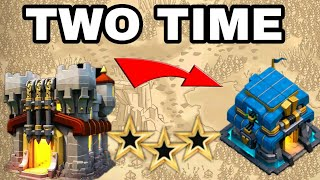 OMG! I CAN'T BELIVE I DID IT! TH11 VS TH12 3 STAR TWO TIME IN CWL!! CLASH OF CLANS - COC