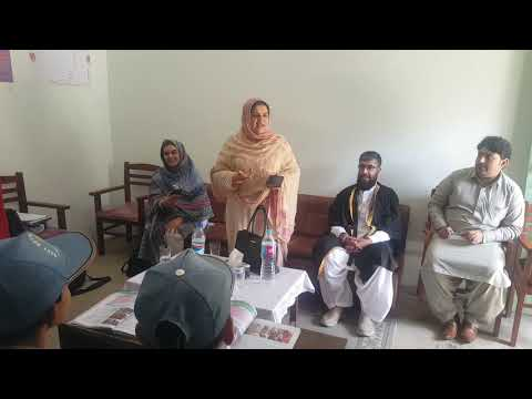 District Education Officer (Female) Quetta was Addressing today at GBHS Moti Ram Road Quetta