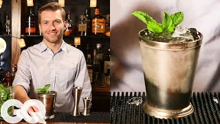 How to make a classic mint julep with GQ & the Clover Club's Tom Macy