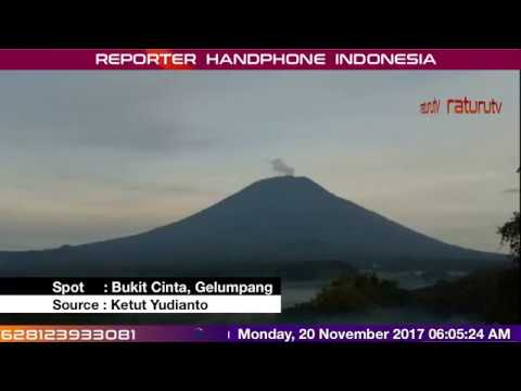 Bali Volcano : Mount Agung – Gunung Agung update real time 20112017