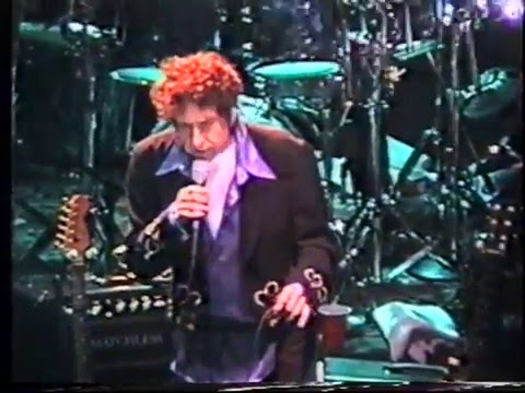 BOB DYLAN LABBATTS APOLLO MANCHESTER ENGLAND  APRIL 3, 1995  Masters Series 160