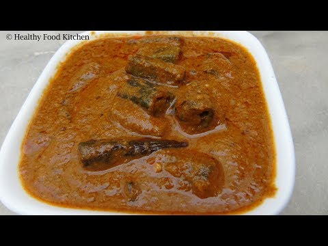 Lady's Finger Curry Recipe In Tamil - Vendakkai Curry - Bhindi Masala Curry - Okra Curry Recipe