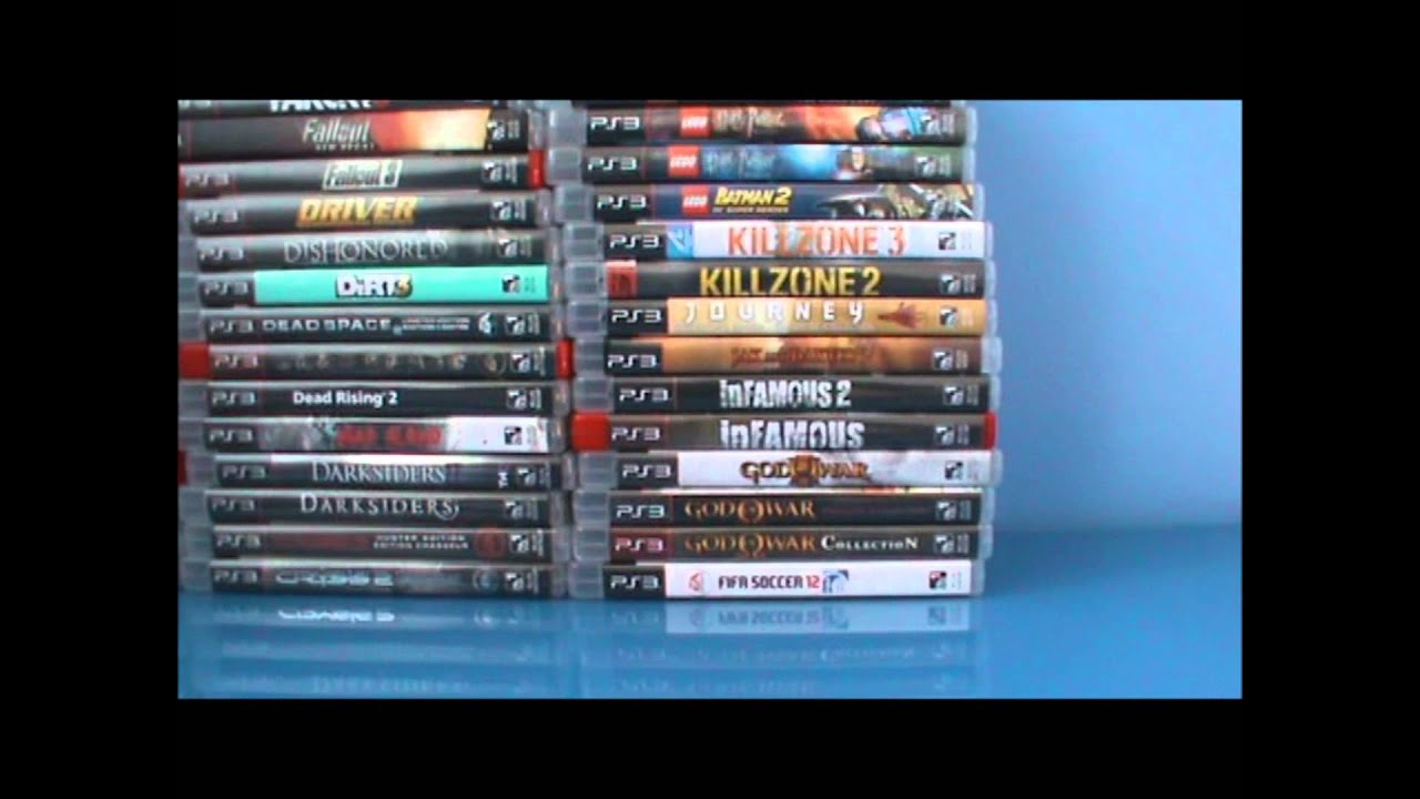 A Game That Starts With A Ps3 : Ps game collection update april youtube