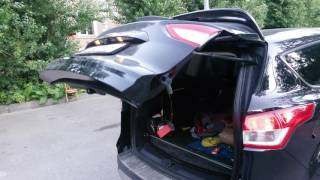 Блок управления электроприводом задней двери (багажника) MathDrive(Второе тестирование блока управления электроприводом задней двери. Уже полноценное. Все требуемые функции..., 2016-07-19T17:15:47.000Z)