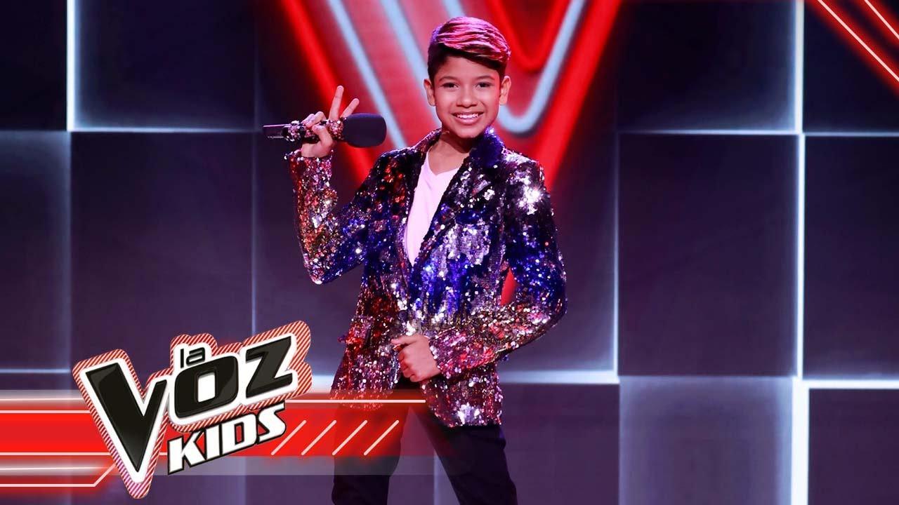 Brayan canta 'La quiero a morir' en la Semifinal | La Voz Kids Colombia 2021