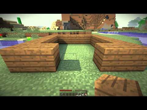 Minecraft - выживание часть 1 - Видео из Майнкрафт (Minecraft)