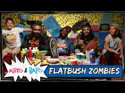 What is Your Favorite Cuss Word? w/ Flatbush Zombies - Arts & Raps #ArtsNRaps