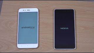 Xiaomi Mi A1 vs Nokia 6 - Which is Fastest?