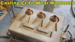 Making Chrome-Iron Hammers For Our Hammer Mills