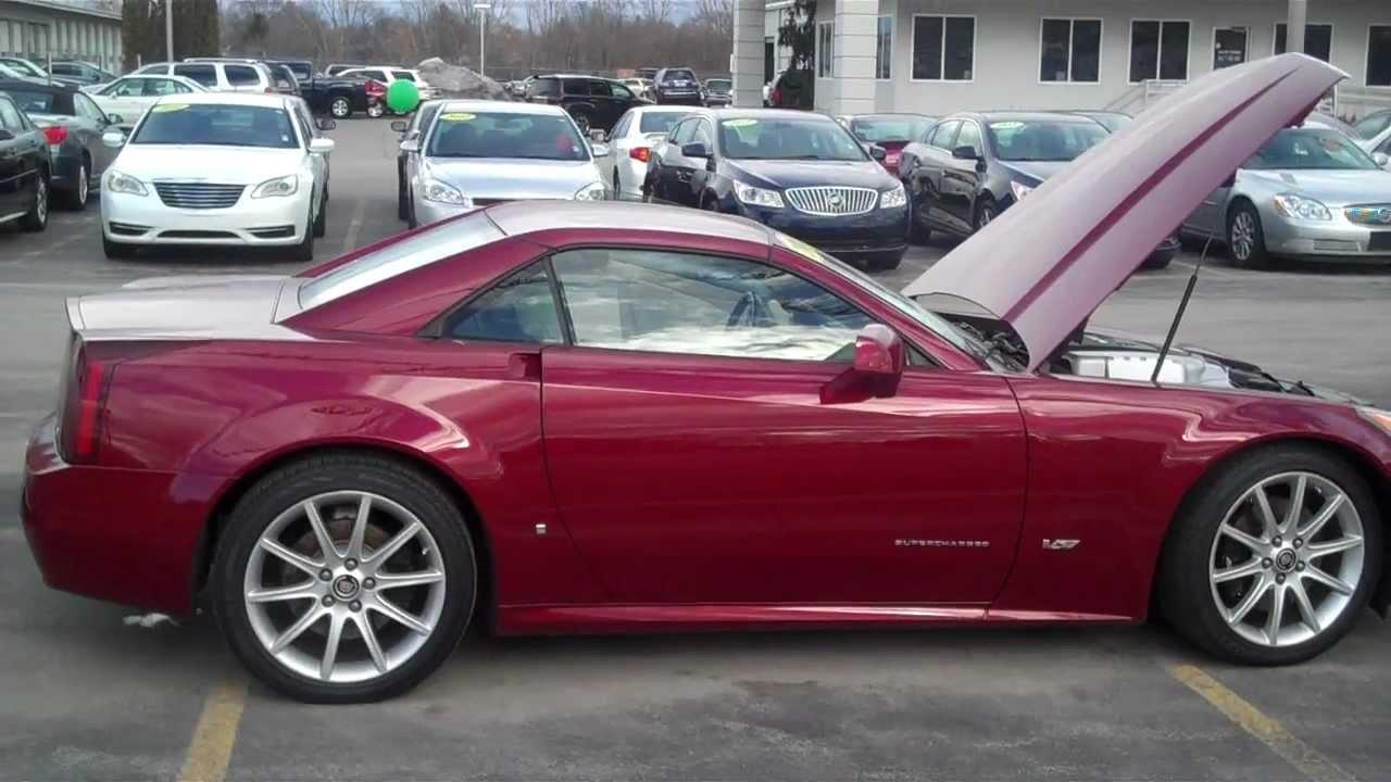 2006 Cadillac XLR-V V8 in Michigan - YouTube