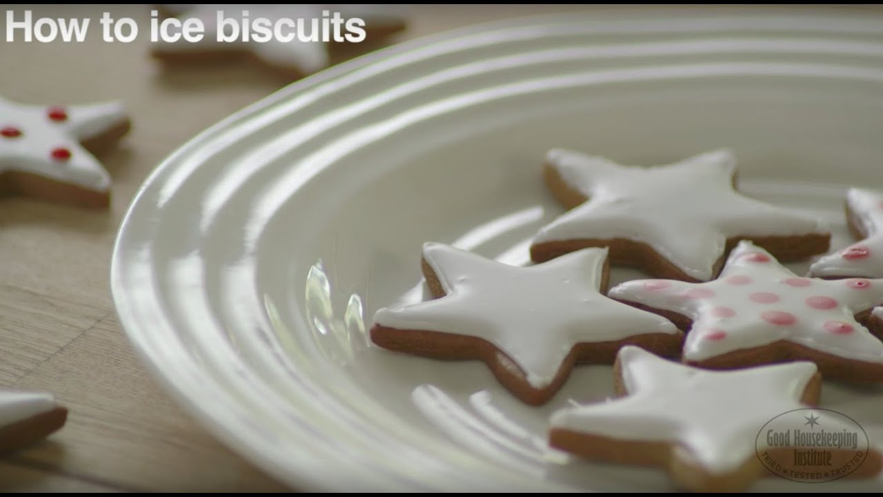 How To Ice Biscuits Beautifully And Professionally Good Housekeeping Uk