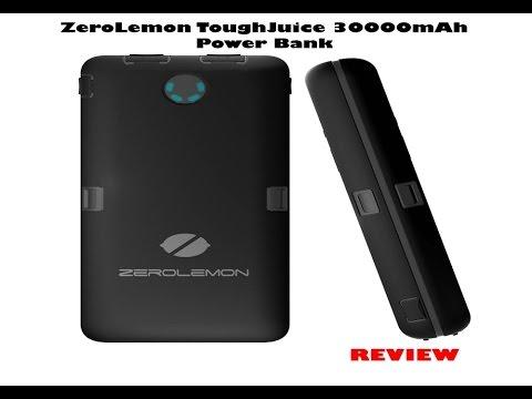 zerolemon toughjuice 30000mah power bank review youtube. Black Bedroom Furniture Sets. Home Design Ideas
