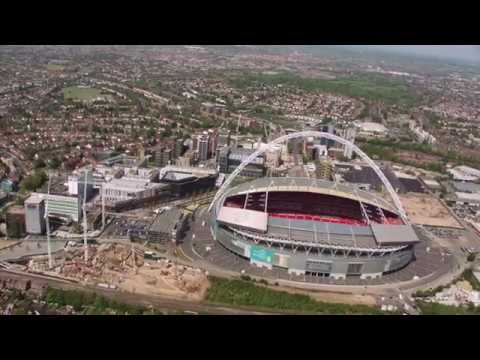 Wembley Park from the Air