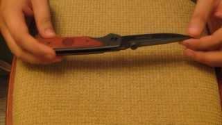Обзор китайского ножа - Browning DA30(Китайский нож - Обзор ножа Browning DA30 из стали 440C China Knife - A little knife review - Browning DA30 Сильно строго не судите - первый..., 2013-08-04T18:46:37.000Z)