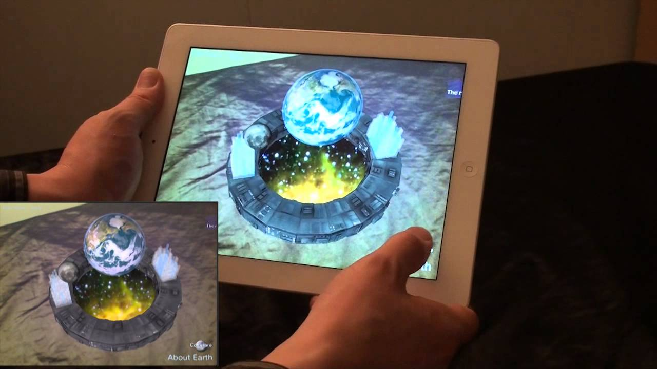 AR Planets - Augmented Reality App - YouTube
