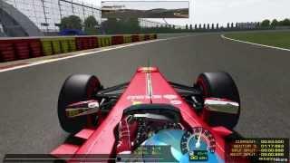 rFactor Ferrari Formula 1 Nogaro Gameplay