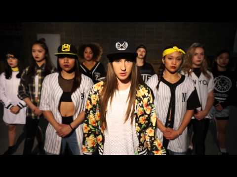 Huey - Pop Lock & Drop it | choreography by 11 year old Taylor Hatala & Melanie Hidalgo