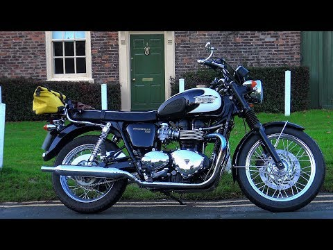 The Hitchickers guide to buying a used motorcycle! Ft Triumph Bonneville T100!