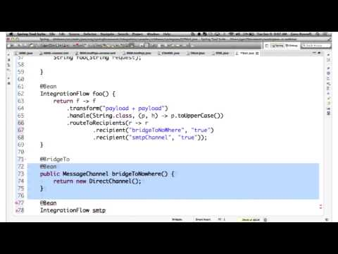 Spring Integration - Java Configuration and More - YouTube