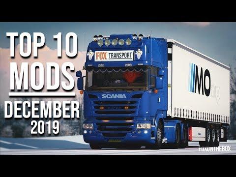 TOP 10 ETS2 MODS - DECEMBER 2019 | Euro Truck Simulator 2 Mods