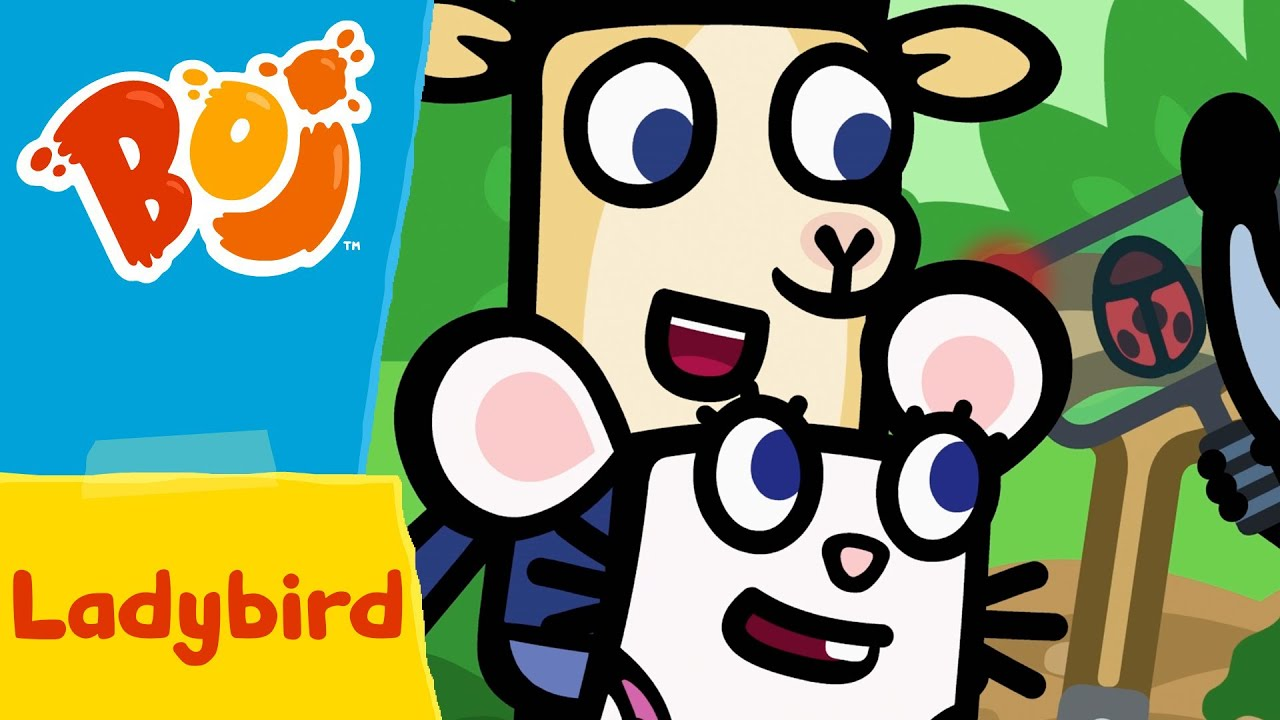 Download Boj - Ladybird and Flying Birds   Full Episodes   Cartoons for Kids